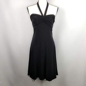 B. Darlin Black Cocktail Halter Dress